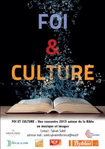 Affiche foi et cultures 2