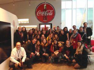 Séminaire médias à Coca Cola